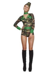 Battle girl-kostume