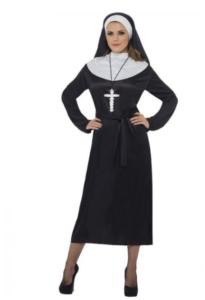 Billigt nonne kostume