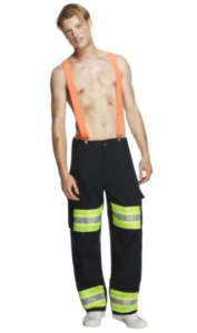 Hot brandmand udklædning