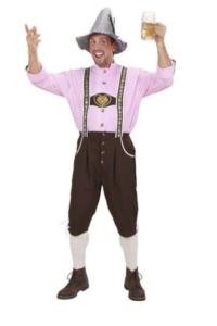 Oktoberfest-kostume til mand