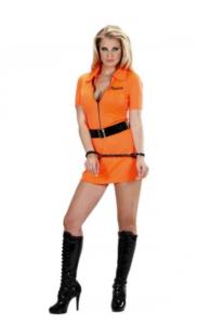 Orange fange-babe