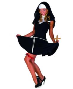 Sexet nonne kostume