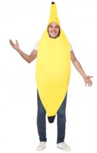 sjovt banankostume