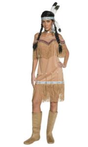 udklædt som sød indianer
