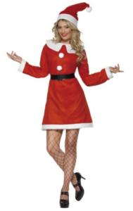 Billigt julepige kostume