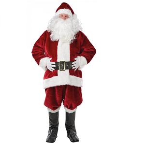 deluxe julemands udklædning