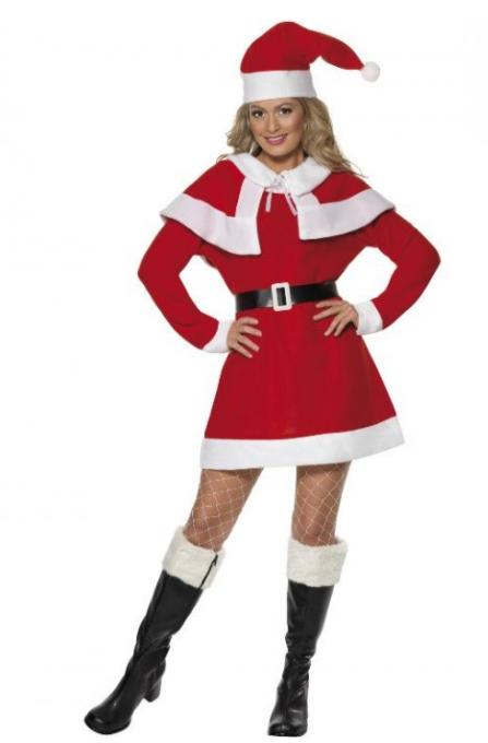 Julemandens kone udklædning