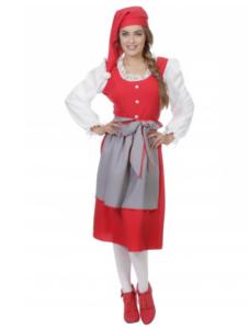 den klassiske julekvinde udklædning