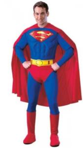 Superman superhelt kostume
