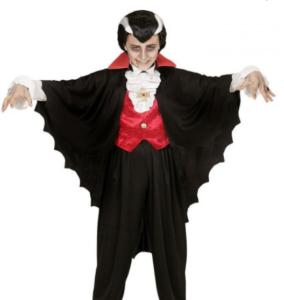 uhyggeligt dracula børne kostume