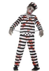zombie fange dreng udklædning