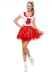 grease cheerleader kostume