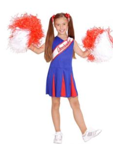 Lille cheerleader pige
