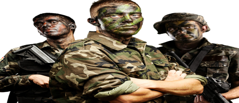 Militær kostumer
