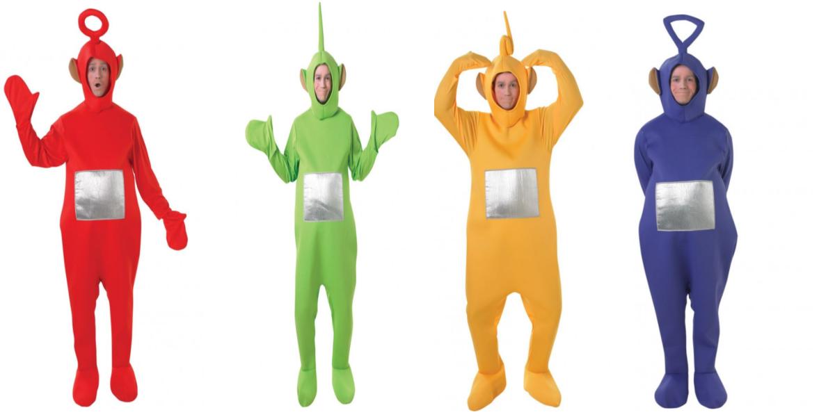 Teletubbies kostumer