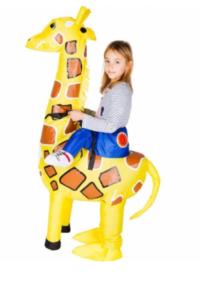 Oppustelig giraf børn