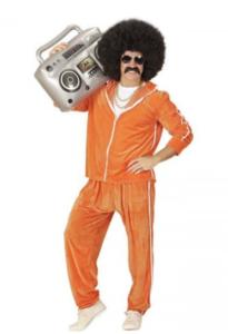 orange 80'er joggingdragt (mænd)
