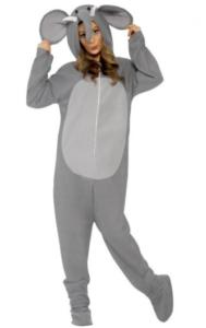 sødt elefant heldragts kostume