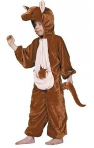 sødt kænguru kostume