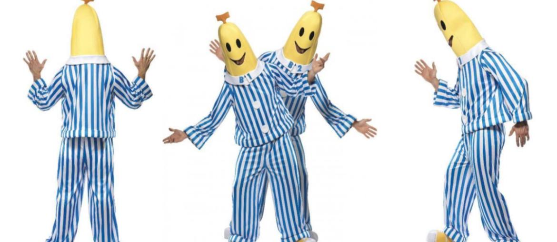 bananer i pyjamas kostumer