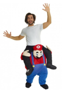 Carry me Super Mario kostume