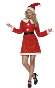 Julepige kjole