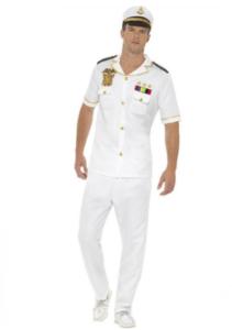 Flot kaptajn kostume til mænd