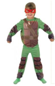 lille ninja turtles kostume til børn