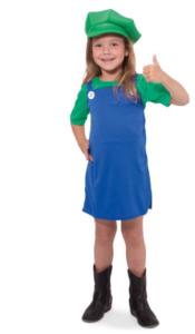 Luigi pige kostume