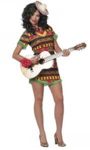 Iøjnefaldende mexicansk kjole