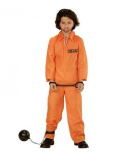 orange fangedragt til børn