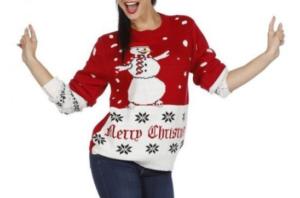 Snemand julesweater