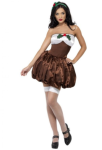 søde Frk. julebudding kostume