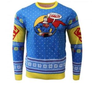 Superman juletrøje