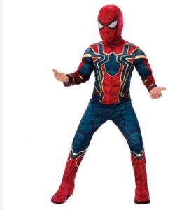 klæd dig ud som spiderman til fastelavn