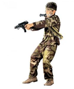 Militært fastelavns kostume