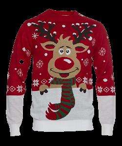 julesweater-med-rensdyr-motiv