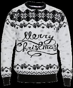 Merry christmas julesweateren