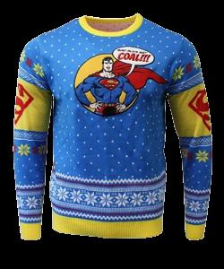 superman christmas jumper